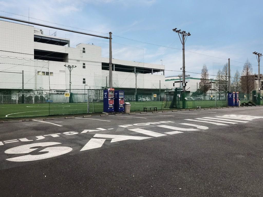 フットサルポイントサル川崎竣工写真